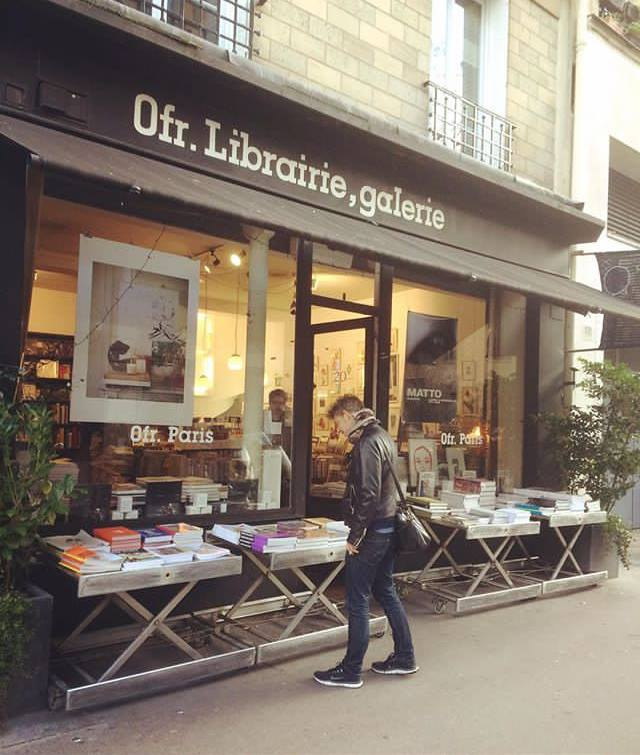 магазин-галерея Ofr Франция