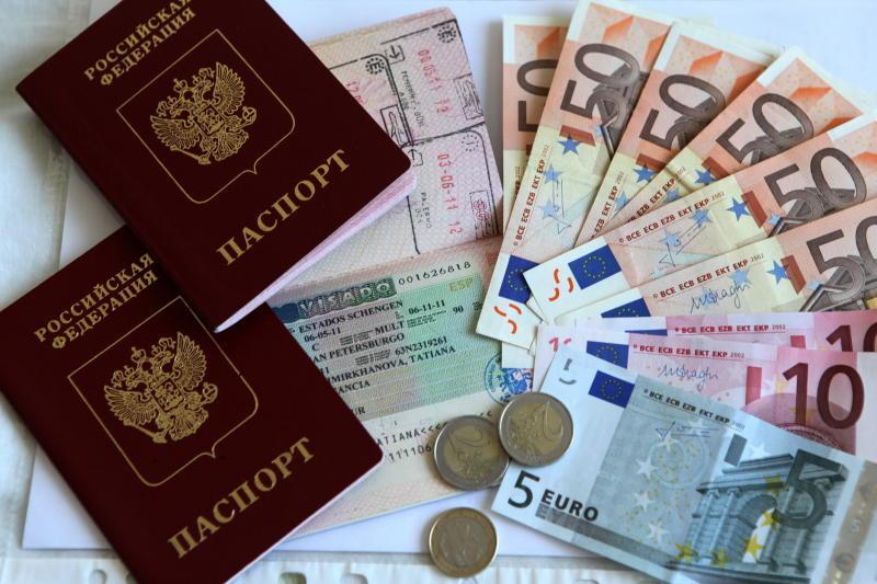 Расходы на оформление визы в Европу