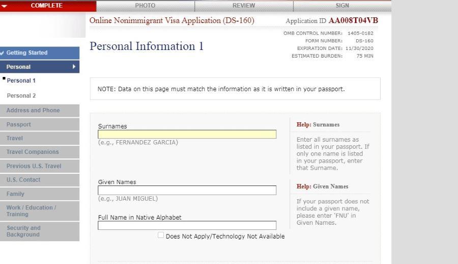 Бизнес виза в США