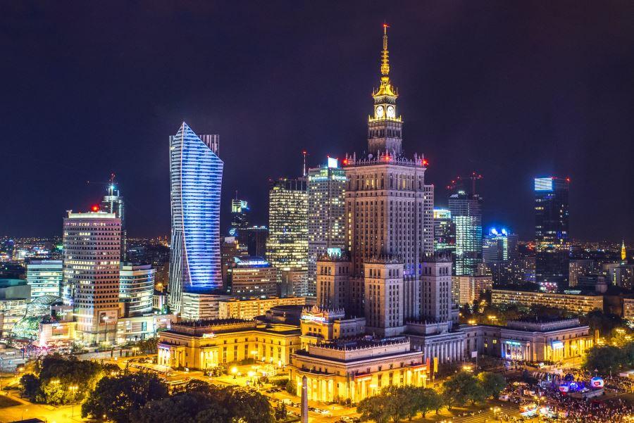 Польский город