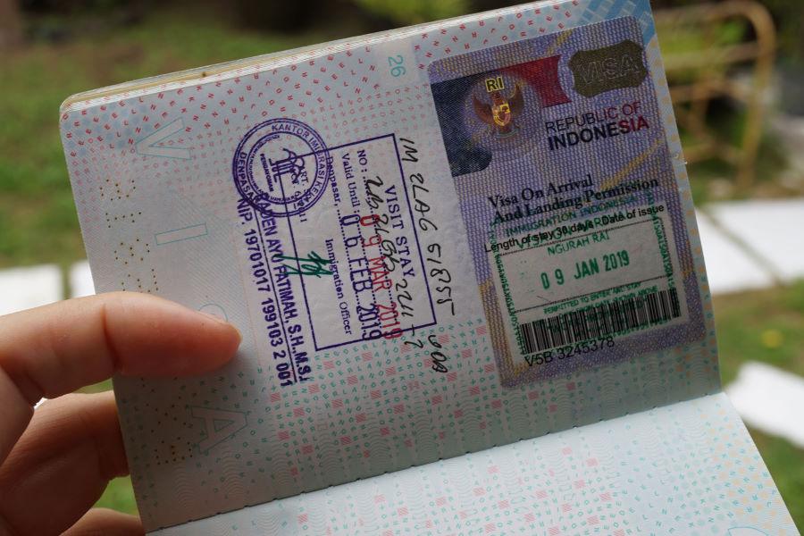 Виза на Бали для россиян