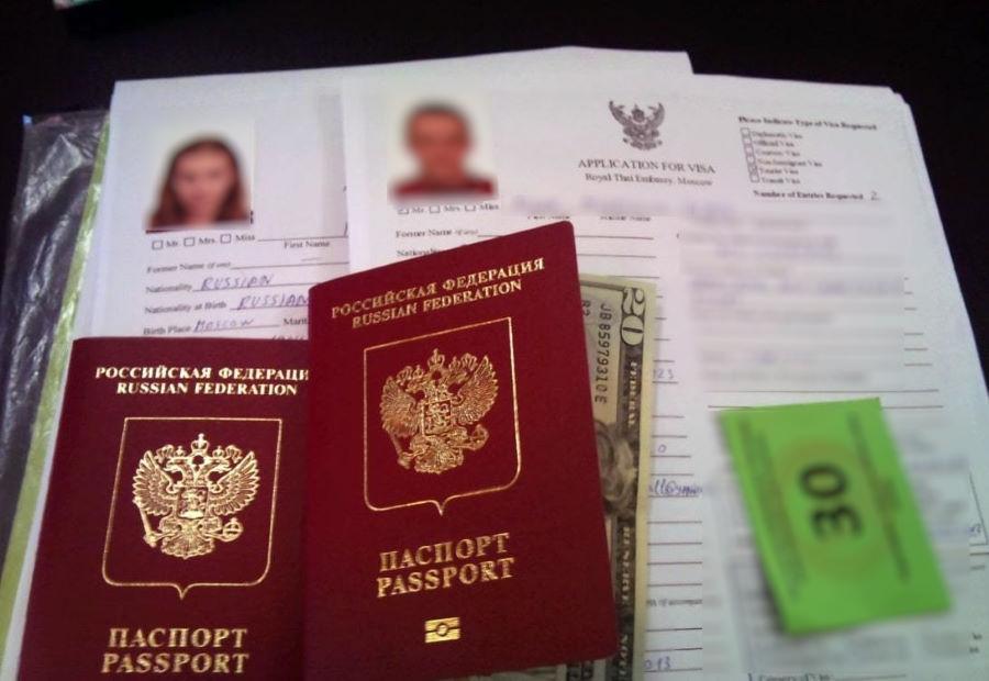 Документы для оформления туристической визы на бали