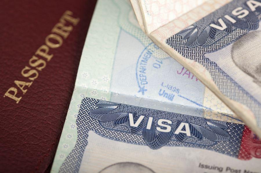 Как выглядит Рабочая виза