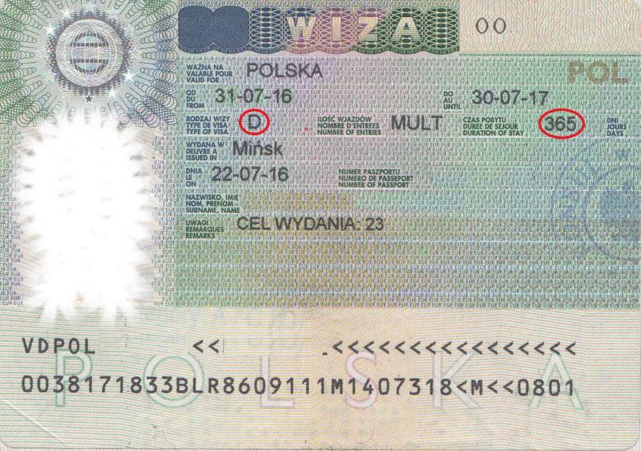 Шенгенская рабочая виза