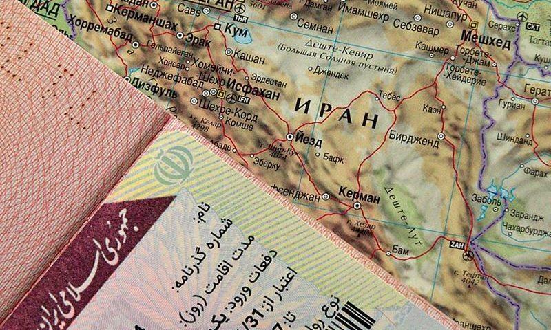 Виза в Иран для россиян