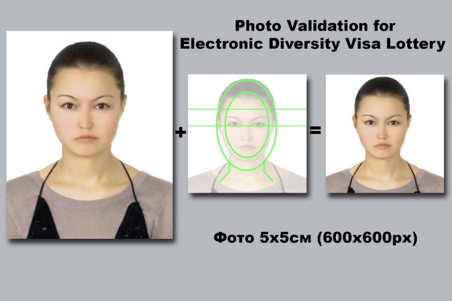 Требования США к фотографиям на Green Card
