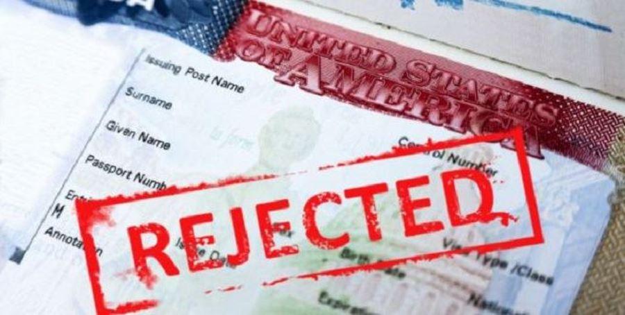 Отказали в визе США