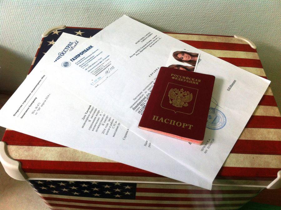 Виза в США для Россиян