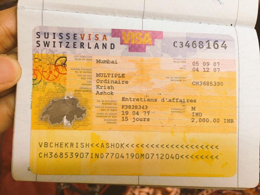 Виза в Швейцарию для россиян
